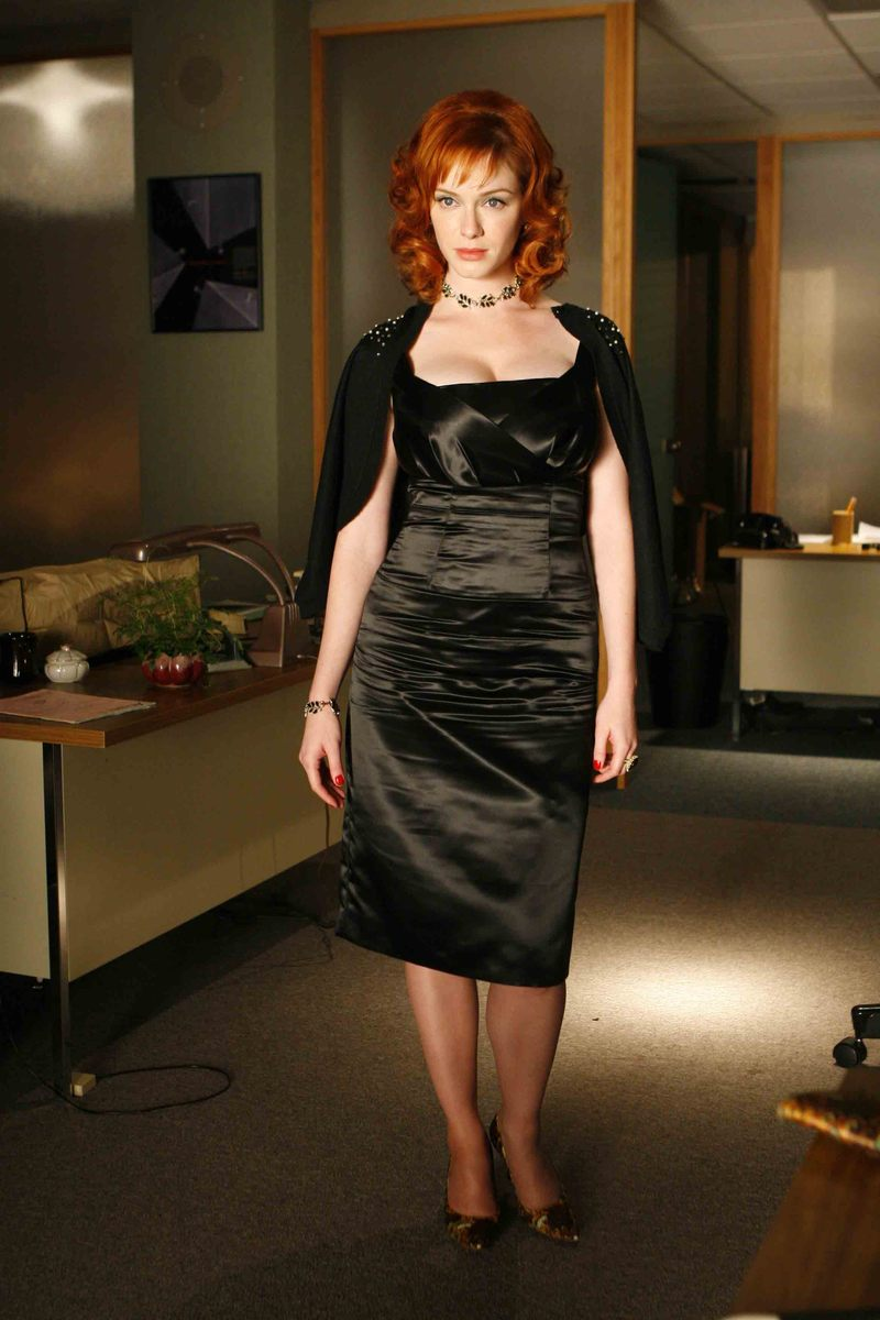 Joan Holloway - MadMen - Black Dress