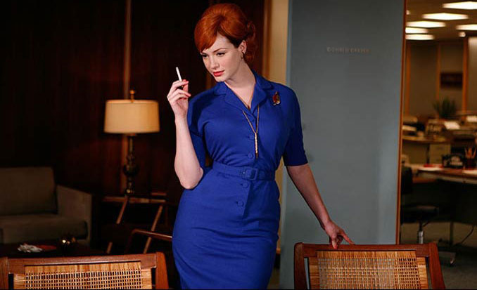 Joan Holloway - MadMen - Blue Dress