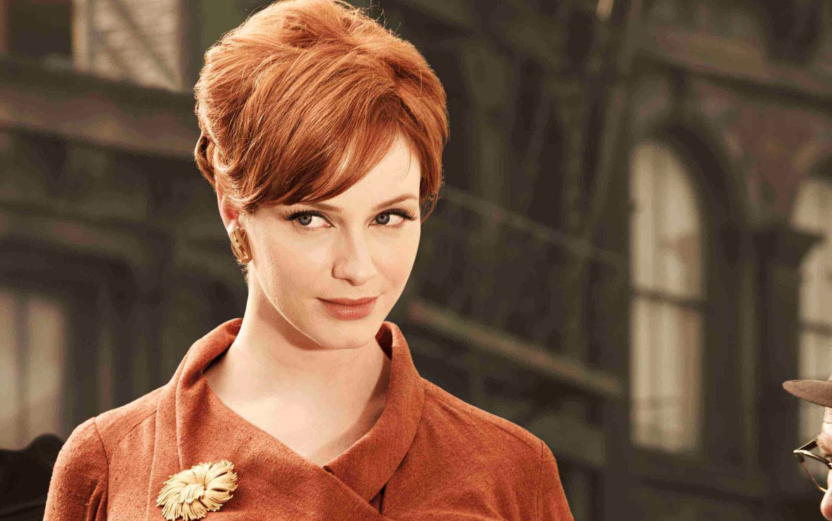 Joan Holloway - MadMen - Gorgeous Eyes