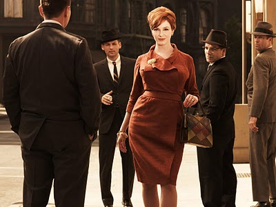 Joan Holloway - MadMen - Chocolate Dress