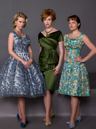 Joan Holloway and co - MadMen - Green Dress