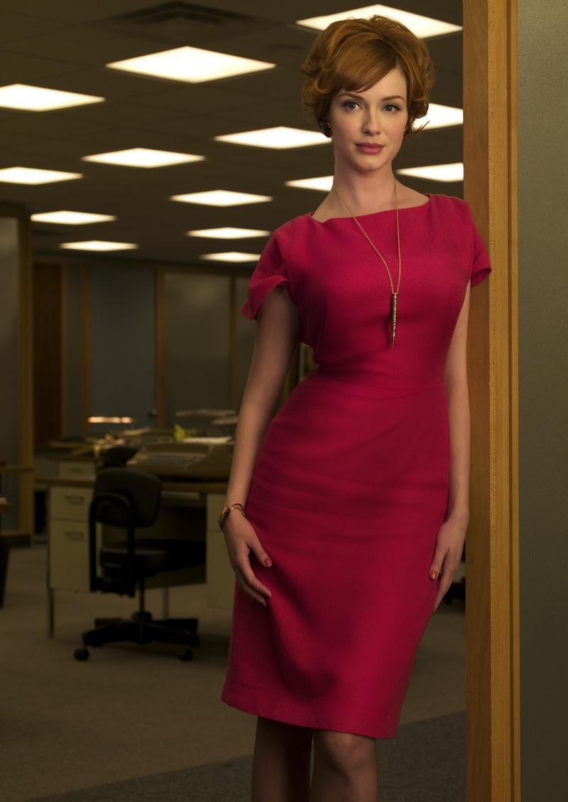 Joan Holloway - MadMen - Red Dress