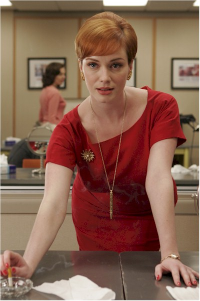 Joan Holloway - MadMen - Red Dress... again
