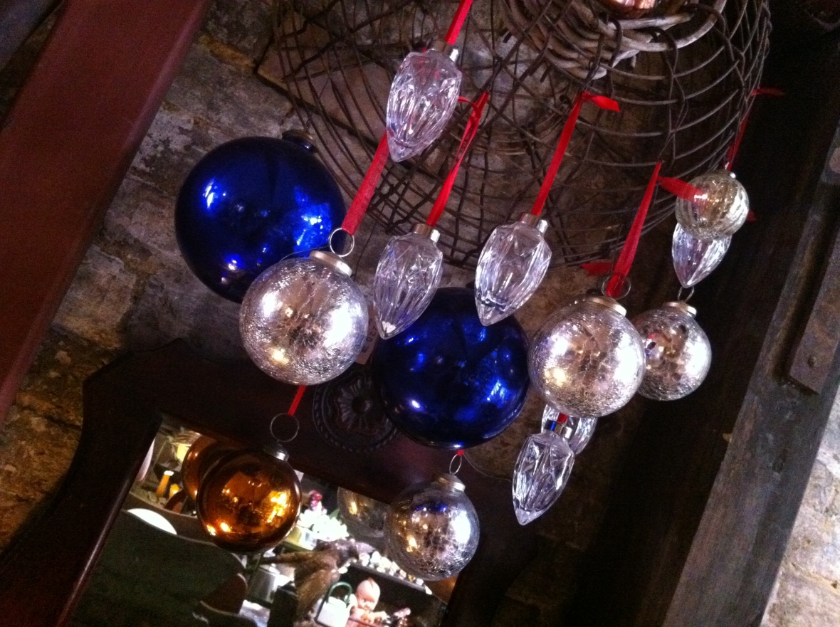 When baubles were made of glass - Seasonal Concepts - 122 Redfern Street Redfern