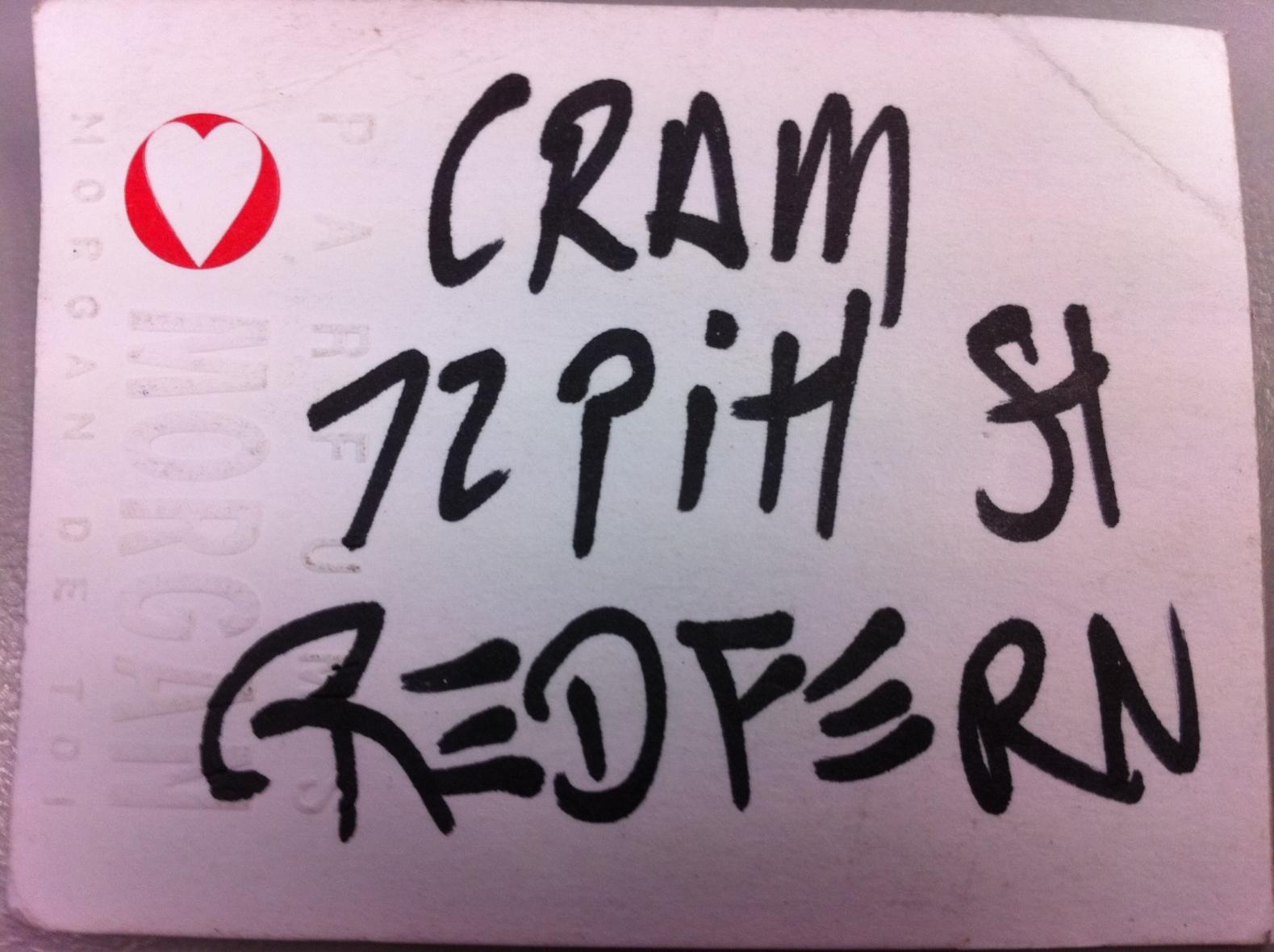 Cram - 72 Pitt Street Redfern
