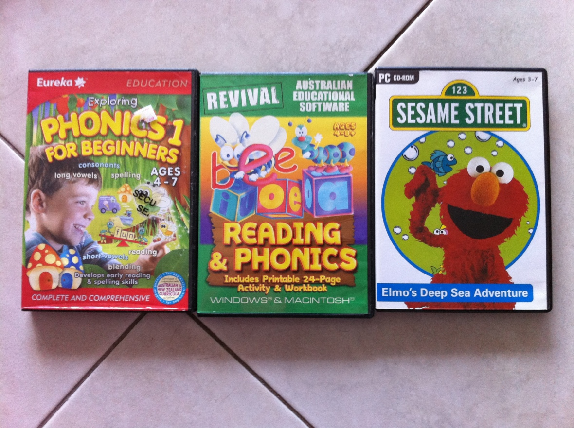 Exploring Phonics 1, Reading & Phonics, Sesame Street Elmo's Deep Sea Adventure