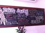 Purple Goanna Cafe, 137 Redfern St, Redfern Menu