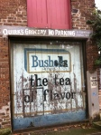 An historic bushells tea ad, Wells St Redfern