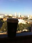 View from Kristen Obaid's office, Pitt St Redfern