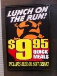 Railz lunch & drink offer, 56 Regent St, Redfern Station