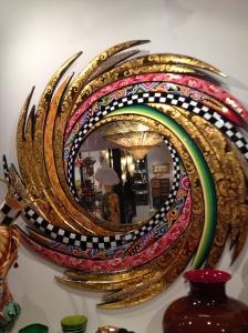 Mexican style sun mirror, Venice Italy
