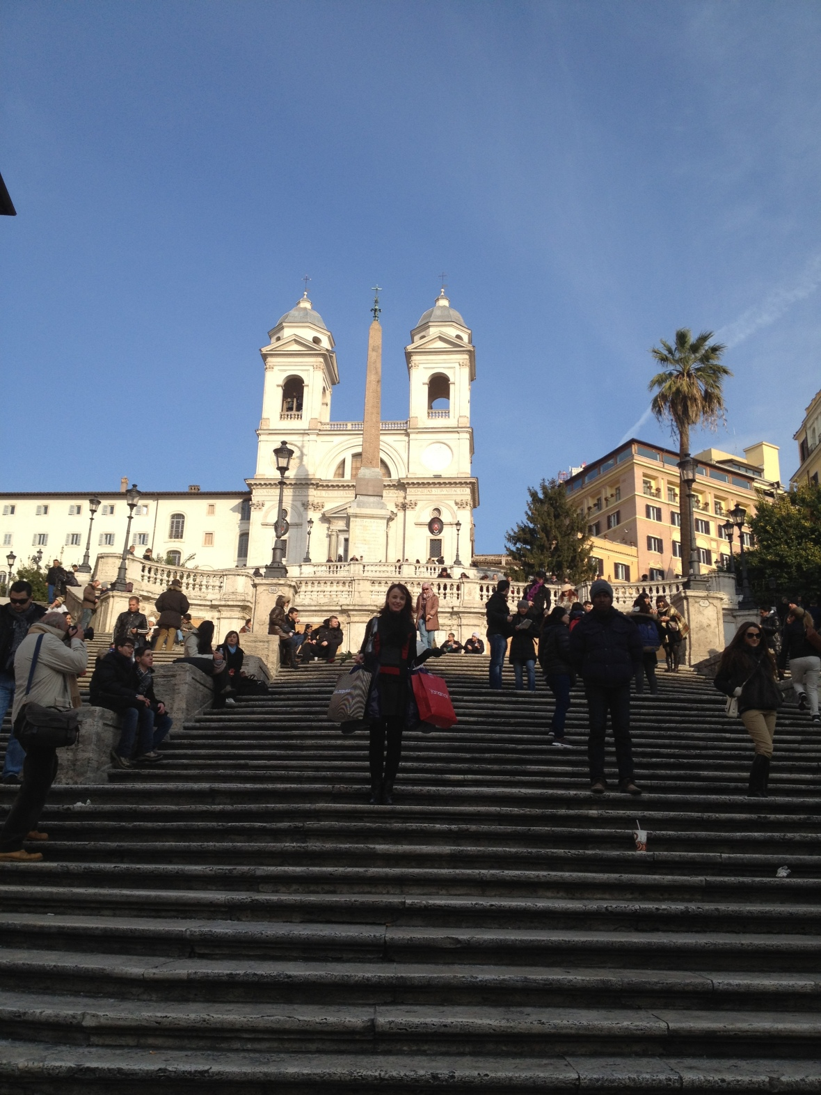 Holiday experiences to avoid, Rome Italy Spanish Steps linking Piazza di Spagna and Piazza Trinità dei Monti, Kristen Obaid