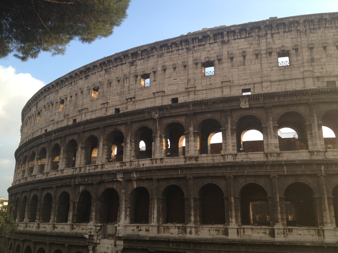 Colosseum in Rome, completed under Titus 80AD