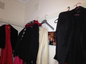 Makeshift wardrobe - wear it or lose it