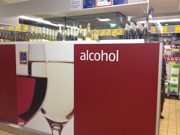 Aldi - New Alcohol section