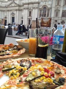 Caffe Domiziano Piazza Navona 88, Rome, best restaurants Italy