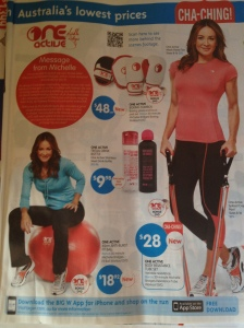 Catalogue - Big W, Michelle Bridges endorsed sports gear