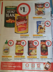 Catalogue Marketing Strategy Print - Coles