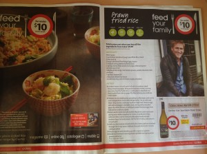 Catalogue - Coles, recipe and offer