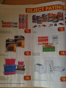 Catalogue Marketing Strategy Print - Reject Shop