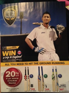 Rebel Sport - using celebrity endorsement, Michael Clarke