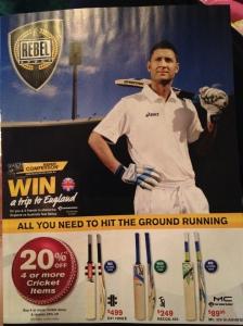 Rebel Sport - using celebrity endorsement, Michael Clarke