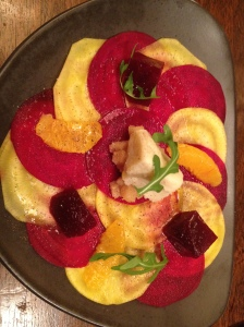 Tugalik - Best restaurants Paris, France, red & white beetroot salad