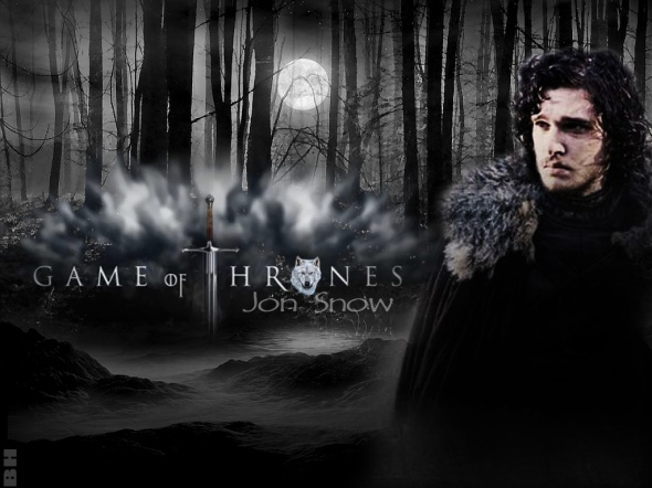 You know nothing Jon Snow - game of thrones watcher on the wall