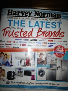 Catalogue Marketing Strategy - Harvey Norman