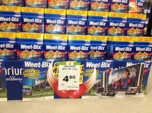InStore Marketing Strategy - Woolworths, Weetbix Sports AFL