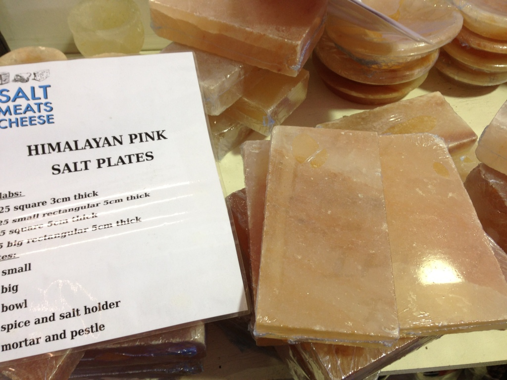 Himalayan Salt square slabs - Salt Meats Cheese providore - 41 Bourke Road Alexandria