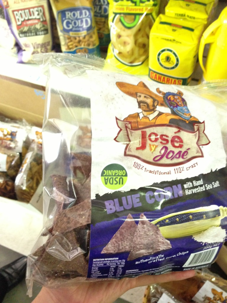 Organic Blue Corn Chips - Salt Meats Cheese providore - 41 Bourke Road Alexandria